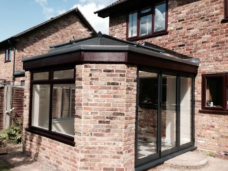 orangery transformation, convert conservatory roof to orangery
