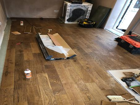 quote for engineered oak flooring, carpenter lay floor